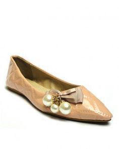 Baby Pink Pointed Ballet Flats