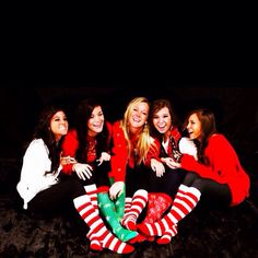 Cute Christmas card with friends!!