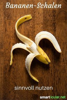 10 Tricks: Bananenschalen sinnvoll weiterverwenden
