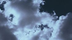Dark Blue and White Aesthetic