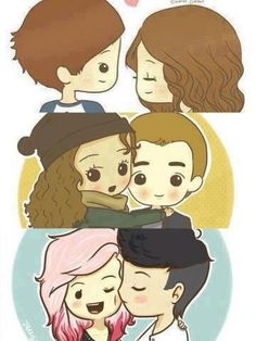 Awwww!!!!!!!!!! Elounor, Payzer, and Zerrie :).... Sophiam is cute to tho she's just not on here... Haha:)