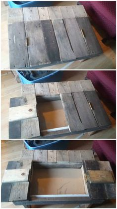 Welcome to your online community to discover and share your pallet projects & ideas! Thousands of recycled pallet ideas, free PDF plans & guides, safety information & useful guides for your next pallet project! Free Wood Pallets, 1001 Pallets, Recycled Pallets, Wooden Pallets, Diy Pallet Furniture, Furniture Projects, Rustic Furniture, Outdoor Pallet Projects, Pallet Ideas