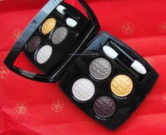 Chanel quad eyeshadows Signe Particulier