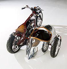 "2008 ""WEST COAST CUSTOMS"" AIRSTREAM CUSTOM MOTORCYCLE - Barrett-Jackson Auction Company - World's Greatest Collector Car Auctions"