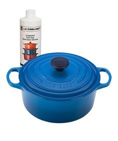 Marseilles Cast Iron 4.5-Qt. French Oven & Cookware Cleaner Set | zulily