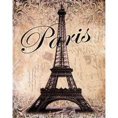 Paris Poster Print by Todd Williams (11 x 14)