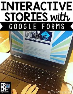 Interactive Stories could be used in multiple subjects. Make up a story and let students have fun while learning. This could be a free time reward or a supplement for the students who grasp the concept before others. Teaching Technology, Technology Integration, Educational Technology, Medical Technology, Energy Technology, Teaching Biology, Business Technology, Technology Gadgets, Google Drive