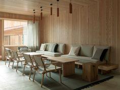 Interior design by Sistem Interior Architects. Furniture, Interior, Wooden Furniture, Home Decor, Conference Room Table, Room Divider, Interior Architect, Interior Design, Stool Design