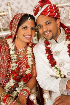 Red And Cream Indian Wedding By Crimson Blu Photography