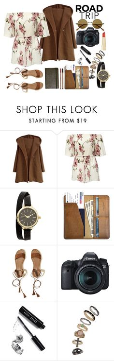 """""""Do you want to travel the world?"""" by maarmani ❤ liked on Polyvore featuring CO, Hollister Co., Eos and Bobbi Brown Cosmetics"""