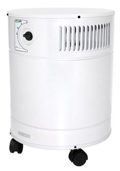 AllerAir A5AS21254140 5000 DS  HEPA and Carbon Air Cleaner with 24 lb Deep Bed C White Air Filter Media Air Cleaner Portable
