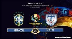 Live: Brazil vs Haiti