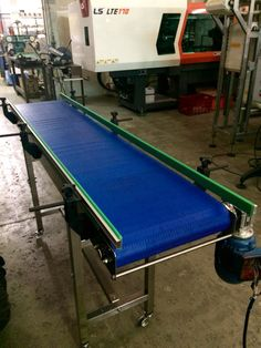 Conveyor modular Belt Model ModuBELT  PlasNEC industrial