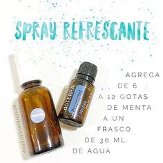 Hay 3 motivos por los que este spray te va a encantar  ♦️Uno, refresca cuando hace calor (por eso un must para la playa). ♦️Dos, refresca el aliento. Sabe muy bien! ♦️Tres, te ayuda a bajar la fiebre. Para esto aplícalo en pies, axilas y espalda. ♦️Y el pilón, repele las moscas.  Dale like si lo prepararás ❤️ Comenta si ya lo usas