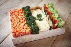 10 idées de présentation pour les bâtonnets de légumes à l'apéritif: