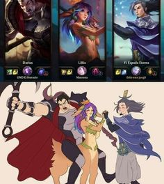 Katarina League Of Legends, League Of Legends Comic, Champions League Of Legends, League Of Legends Characters, Leg Of Legend, Liga Legend, League Memes, Gaming Memes, Funny Games