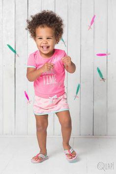 Quapi | Dress Fadia Sweet | Flipflops Frea Lemonade Feather Teen Boys, Baby Girls, Shirt Dress, T Shirt, Lemonade, Babys, Feather, Summer Dresses, Sweet