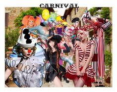 """""""Carnival"""" by jojona-1 ❤ liked on Polyvore featuring arte"""