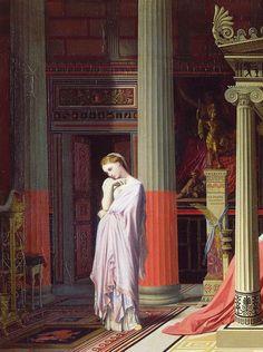 Ingres, Jean-Auguste-Dominique (b,1780) - Die Dantiochus ou Antiochus & Stratonice -2d
