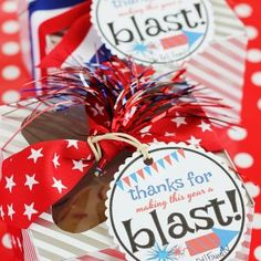 Patriotic Mini Bundt Cake Gift Idea with Free Printable Gift Tags - Cranberry Energiebällchen Sewing Projects, Projects To Try, Crafts For Kids, Diy Crafts, Free Printable Gift Tags, Tulle Wreath, Fabric Gift Bags, Gift Cake, Felt Flowers