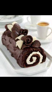 ... | Christmas cookies, Chocolate cake roll and Christmas sugar cookies