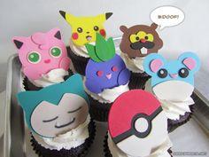 #Pokemon Cupcakesby Geek Sweets