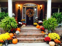 Fall Decorating#Front Entry