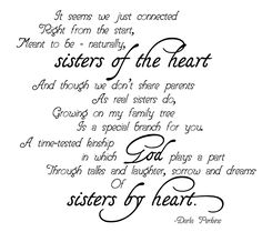 sisters of the heart - Google Search