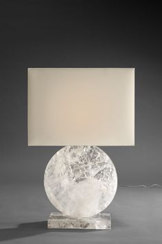 Love this lamp so much! Rock Crystal lamp by Pinto Paris Deco Luminaire, Luminaire Design, Lamp Design, Interior Lighting, Home Lighting, Lighting Design, Modern Lighting, Light Table, Lamp Light