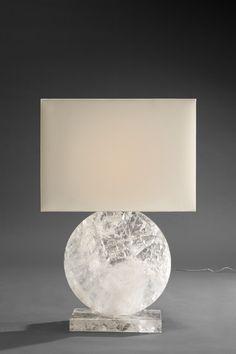 Rock Crystal lamp by Pinto Paris #lighting #interiordecorating #contemporarydesign