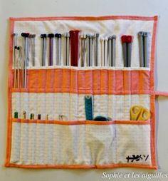 Une belle pochette que je voudrais bien que copine Christine fasse en patchwork......