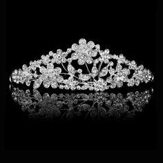 Cheap tiara bride, Buy Quality tiara jewelry directly from China tiara wedding Suppliers:                 Brand New Wedding Flower Rhinestone Tiara Crown which made by rhinestone, these rhineston