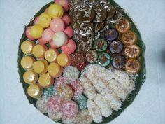 Assorted kakanin in one bilao
