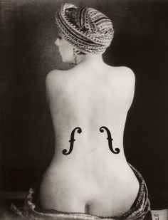 "Man Ray, ""Le Violon d'Ingres"", 1924"