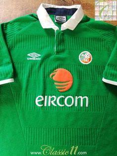 a9f4cd7ea13 24 Best Classic Republic of Ireland Football Shirts images ...