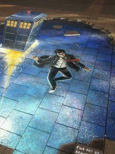 Doctor Who street art