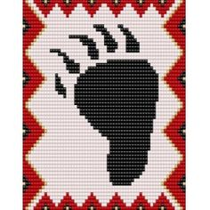 Native American Beading Patterns Printable | ... Bear Beadwork Bead Pattern Collection We also sell pattern Pictures