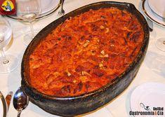 Sopas de ajo al horno con costra. Restaurante Ángela