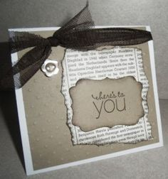 Handmade Card using Friendly Phrases stamp set by Stampin' Up!