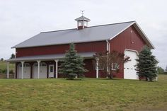From basic to bold, Morton Buildings builds the finest pole barns, equestrian buildings, steel buildings and more. Learn about post-frame construction here Metal Garage Buildings, Pole Buildings, Metal Garages, Steel Buildings, Pole Barn Plans, Shed Colours, Colors, Morton Building, Barn Storage