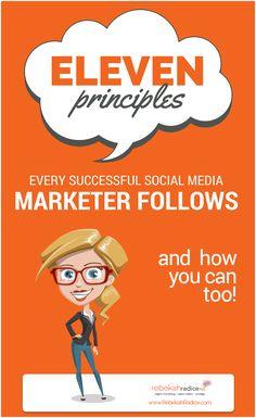 11 Essential Principles Every Successful Social Media Marketer Follows Social Media Marketing Business, Digital Marketing Strategy, Online Marketing, Marketing Plan, Online Business, What Is Social, Social Entrepreneurship, Le Web, Social Media Content