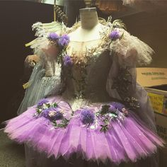 Tulsa Ballet Lilac Fairy tutu #worldtututday
