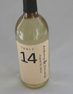Wood Wine Labels