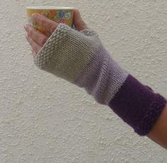 LUXURY CASHMERE blend fingerless mitts / wristwarmers by alidufty