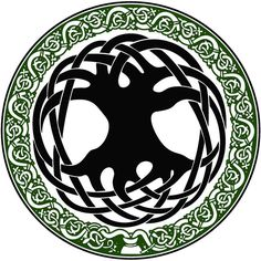 """In the Olde World, when the ancient Celts built their villages, they would strip the land entirely of its forests, leaving only one tree in the center of town. This tree was called the """"Tree of Life."""" The lone tree was worshipped as a symbol of all life on Earth, and as a symbol of Nature, (known as the goddess Danu to the ancient Irish). Today, the Tree of Life is a symbol that has followed us into the contemporary world. It is also a popular religious symbol with neo-pagan and wiccan…"""