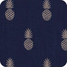 """A nana's fabric"" marine"