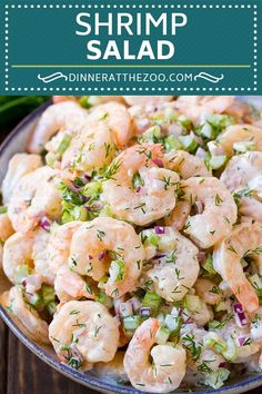 Shrimp Salad Recipe Without Celery.Shrimp And Egg Salad Erren's Kitchen. 10 Best Seafood Salad Without Mayo Recipes. Sea Food Salad Recipes, Shrimp Recipes, Healthy Recipes, Cold Shrimp Salad Recipes, Meat Recipes, Chicken Recipes, Easy Cooking, Cooking Recipes, Seafood Salad