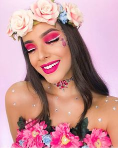 Make Carnaval, Teen Beauty, Maquillaje Halloween, Tutu Costumes, Eye Makeup, Make Up, Cosplay, Mens Fashion, Formal Dresses