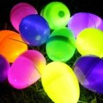 Glow-in-the-dark+Easter+Egg hunt. Oh how my family would love this. Lol