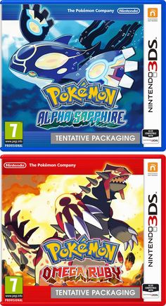 Pokemon Omega Ruby & Alpha Sapphire remakes just announced for @Nintendo #3DS #3DSXL #2DS